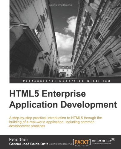 HTML5 Enterprise Application Development Cover